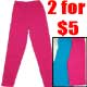 2 for $5 Girl's legging