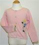 Girl's sweater cardigan