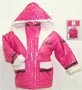 Girl's Barbie polyfill hooded jacket