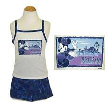 Girl's Mickey mouse tank top 2 pcs short set