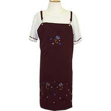 Girl's 4-16 Stretch Top with embroidery dress