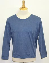 Ladies Plus Size L/S Knit Top