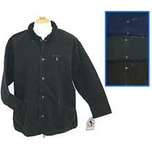 Men's garment dyed cotton jacket