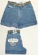 Ladies Denim Short by BUM